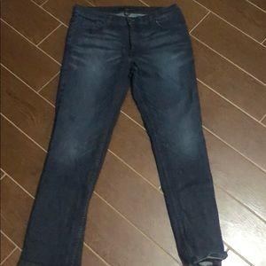 Calvin Klein jeans slim straight lowrise denim